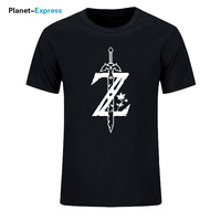 Summer Style T-shirt Men Fashion Tees The Legend Of Zelda Great Casual Cotton T Shirt Cool Print Hip Hop Tops Tees Plus Size