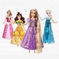 Принцесса Рапунцель Жасмин аниматоры Шарон Белоснежка Ариэль Мерида Золушка Аврора Белль модные великолепные игрушки для детей