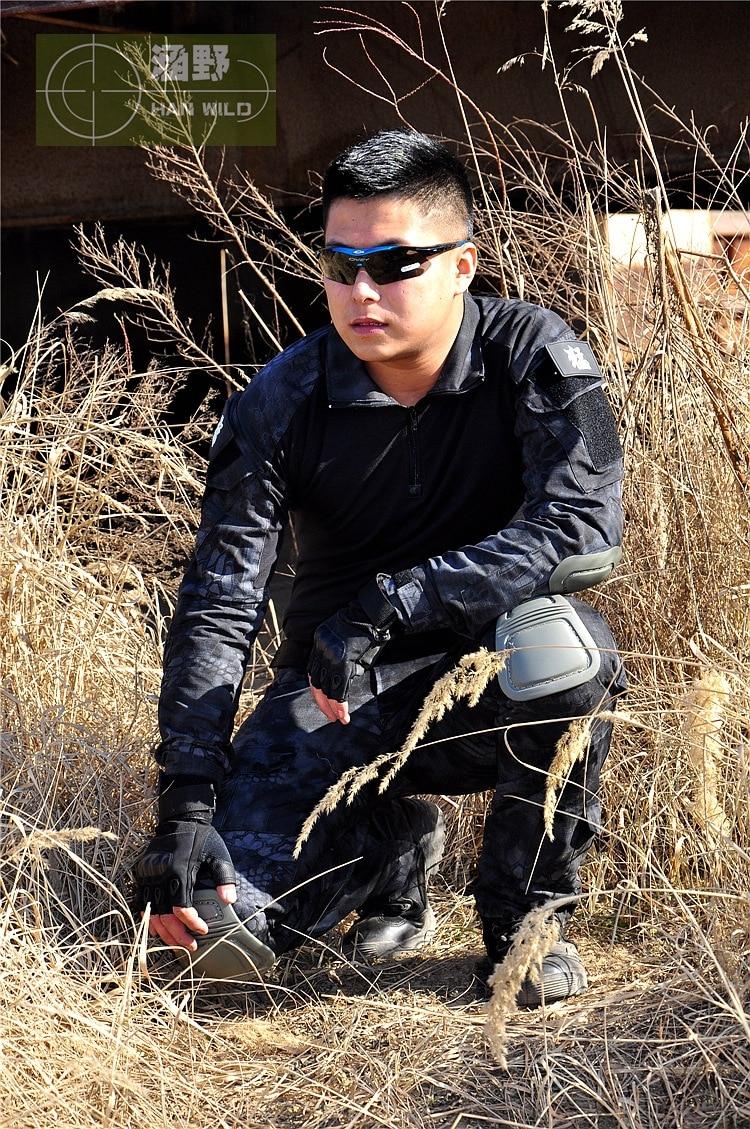 Tactisch legershirt Militair gevechtsoverhemd Militair Overhemden - Sportkleding en accessoires