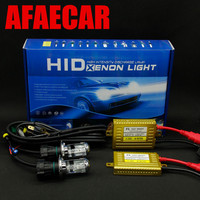 AFAECAR 1 set car 12v bi xenon hid AC 12V 55W lamp Hi/lo beam H4 headlight kit