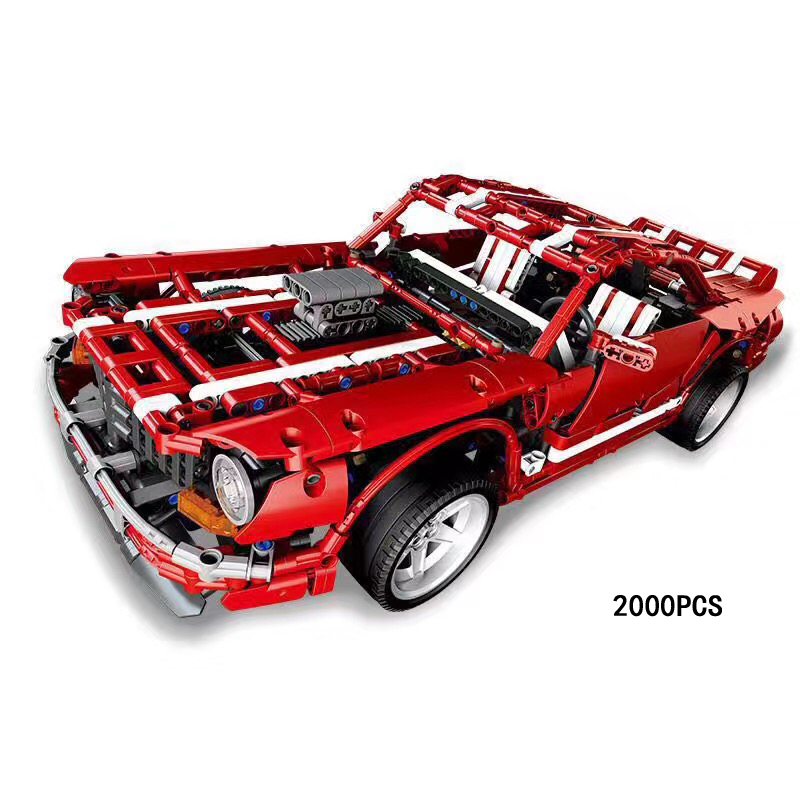 The Fast & The Furious Scale Dodge Charger Dream MUSCLE CAR Moc Building Block Model Bricks Toys Collection for Adult Kids Gifts hot fast furious speed championships building block racing driver figures super sports car lepins model bricks toy for kids gift