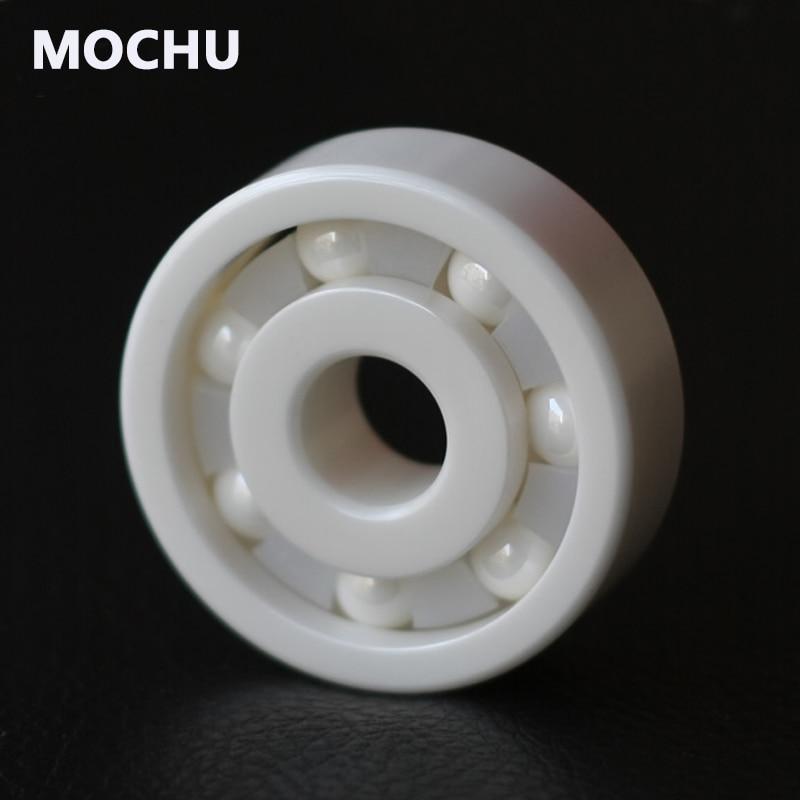 Free shipping 1PCS 6800 61800 Ceramic Bearing 6800CE 10x19x5 Ceramic Ball Bearing Non-magnetic Insulating Thin-walled Bearing 10pcs 6800zz 6800 2rs 61800 6800zz 10x19x5 mm deep groove ball thin bearings 6800z 6800 zz 6800 bearing free shipping