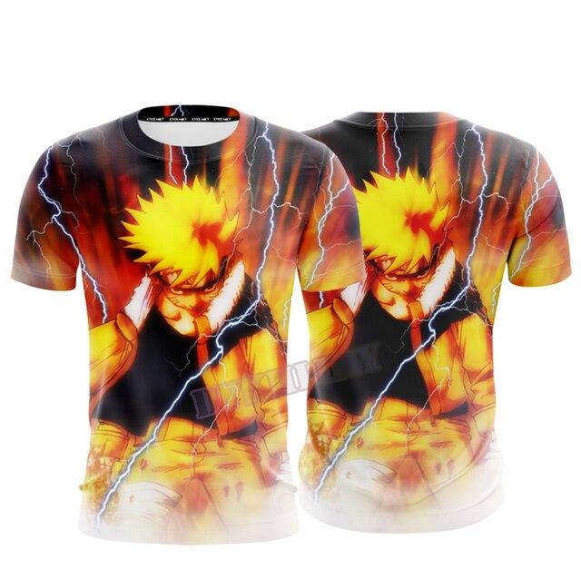 Naruto 3D Print Cool T-shirt