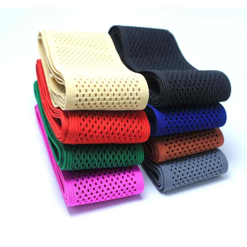 New style popular Wide 5CM Mesh elastic band, waist belt, belt, DIY accessories, super tension, breathable mesh