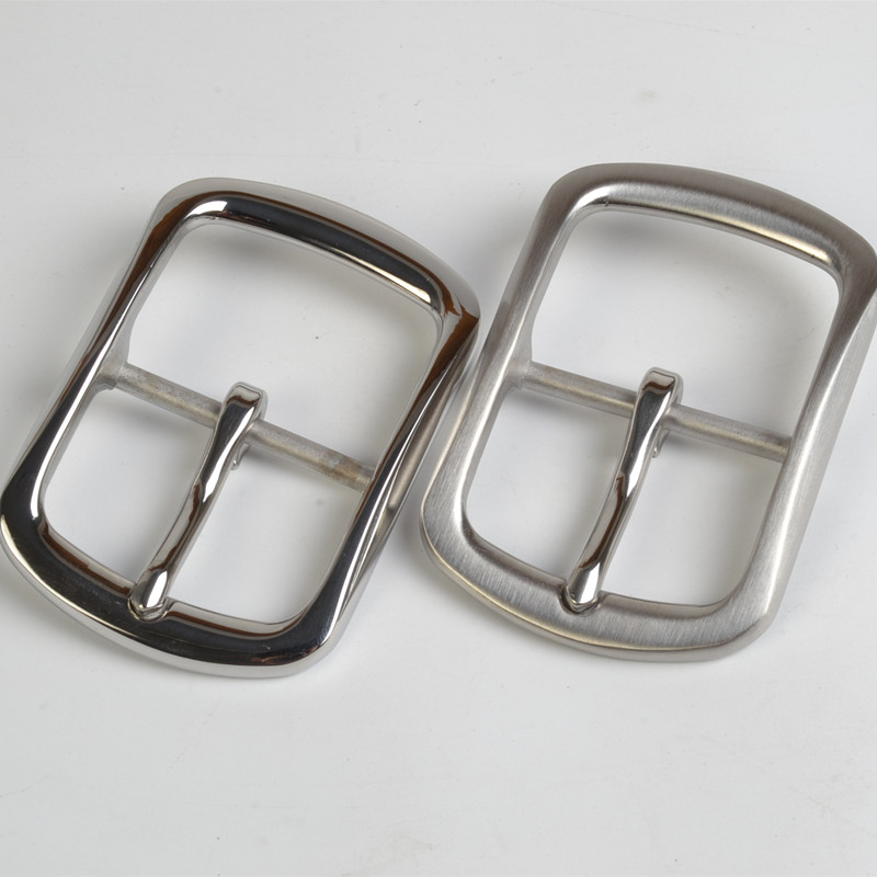 Leather craft 40mm Belt Loop Metal Solid Stainless Steel Jeans Accessory Buckle
