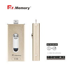 DR-823 i-flash drive 3 USE pendrive for Apple ipad iphone 6s 7 plus Memory disk 64G pendrive Encrypted USB FLASH DRIVE 64g 128GB