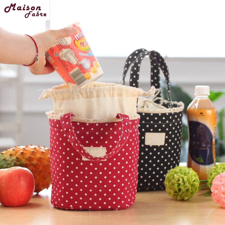 Llunch Bag Bolsa Termica Thermal Insulated Lunch Box Cooler Bag Tote Bento Pouch Lunch Container Drop Shipping 2019