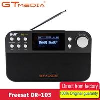 GTMEDIA DR 103 DAB+ Satellite receiver Portable Digital DAB FM Stereo Radio Receptor With 2.4 Inch TFT Bluetooth 4.0