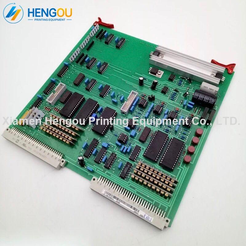 1 pièce DHL livraison gratuite Hengoucn conseil MWE CD102 SM102 CPC encre compatible ADC carte d'échantillonnage 81.186.5385 MWE 00.781.2107