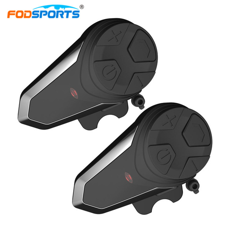 2pcs BT-S3 Helmet Headsets Motorcycle Intercom Wireless Bluetooth Interphone Handsfree Waterproof FM Radio 5 languages Manual 2016 newest bt s2 1000m motorcycle helmet bluetooth headset interphone intercom waterproof fm radio music headphones gps