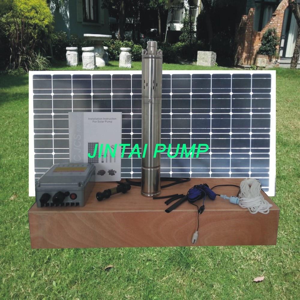 2 years warranty  Solar water pump, solar pump,24v solar powered water pump,  Model No.:JS3-1.8-100