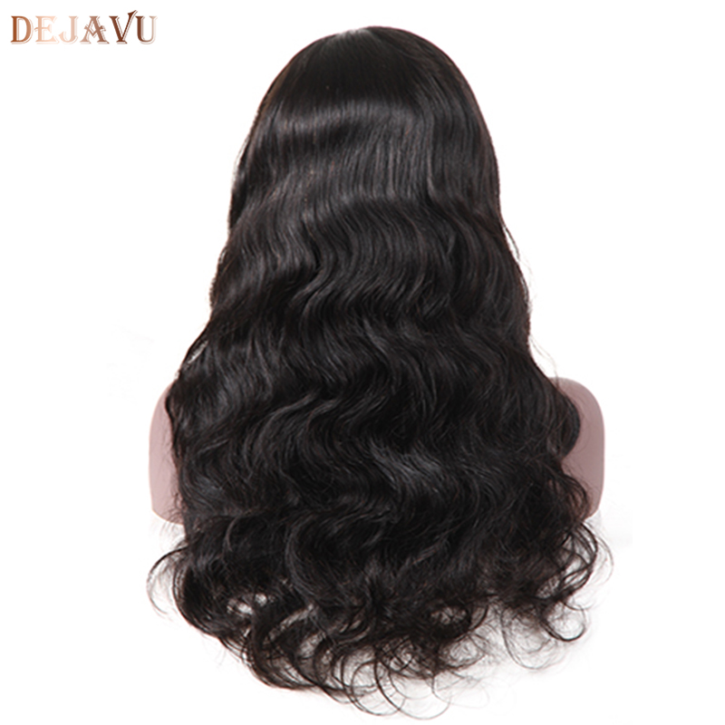 Brazilian Body Wave Lace Front Human Hair Wigs Front Lace Wigs With Baby Hair Pre Plucked Natural Hairline 150% Dejavu Remy