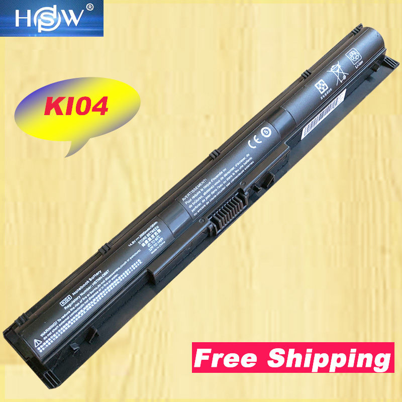 HSW New KI04 800049-001 K104 HSTNN-LB6R battery for HP Pavilion 15 14t 17-g seriesHSW New KI04 800049-001 K104 HSTNN-LB6R battery for HP Pavilion 15 14t 17-g series