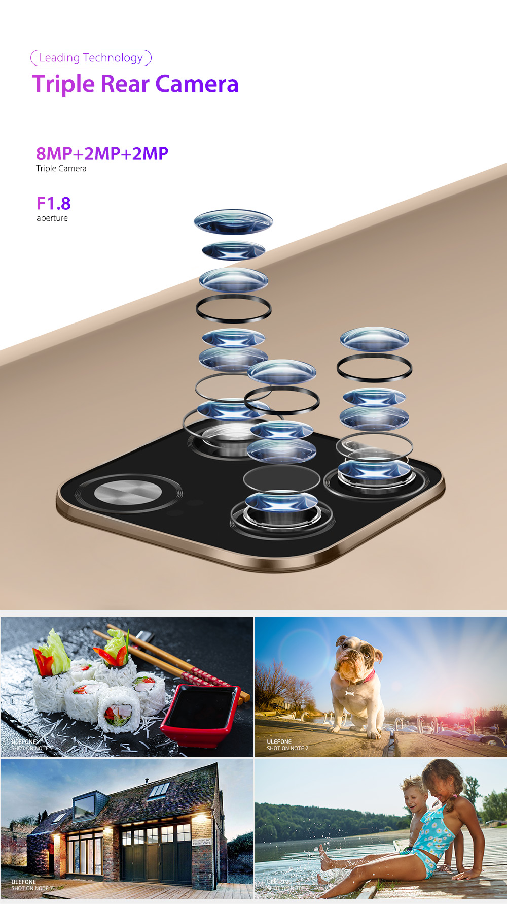 HTB1Ds7XRMHqK1RjSZFPq6AwapXab Ulefone Note 7 Smartphone 3500mAh 19:9 Quad Core 6.1inch  Waterdrop Screen 16GB ROM Mobile phone WCDMA Cellphone  Android9.0