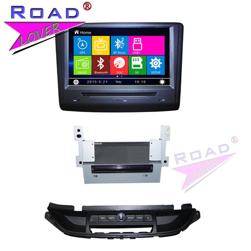 TOPNAVI Wince 6 0 8inch 2Din Car Multimedia DVD Auto Player For Buick Excelle XT 2015