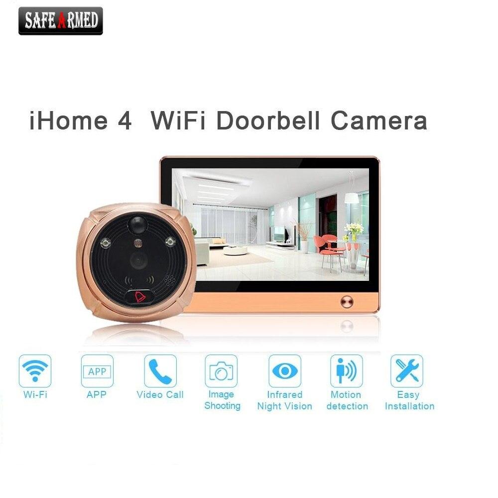 Front door peephole camera - Wifi Digital Peephole Door Viewer Willful 7 Lcd Touch Screen Front Door Peephole Camera
