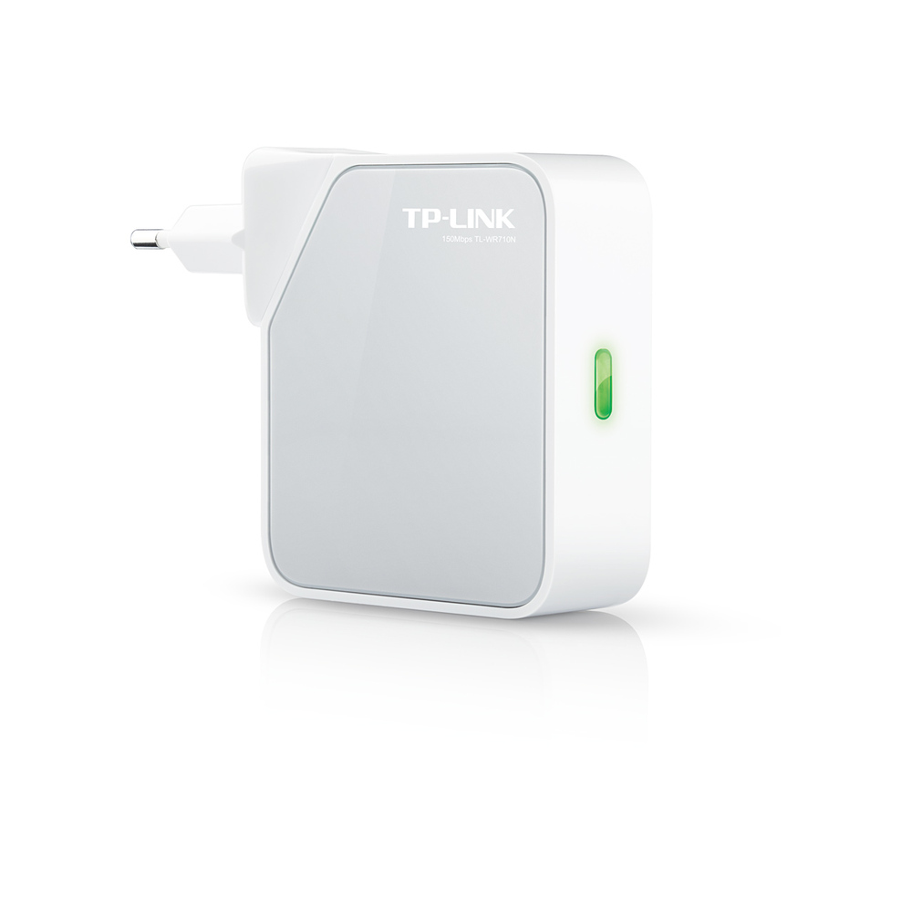 Client TP WR710N 150Mbps Wireless N Mini Pocket Router 2 LAN Ports USB Port for Charging and Storage Repeater