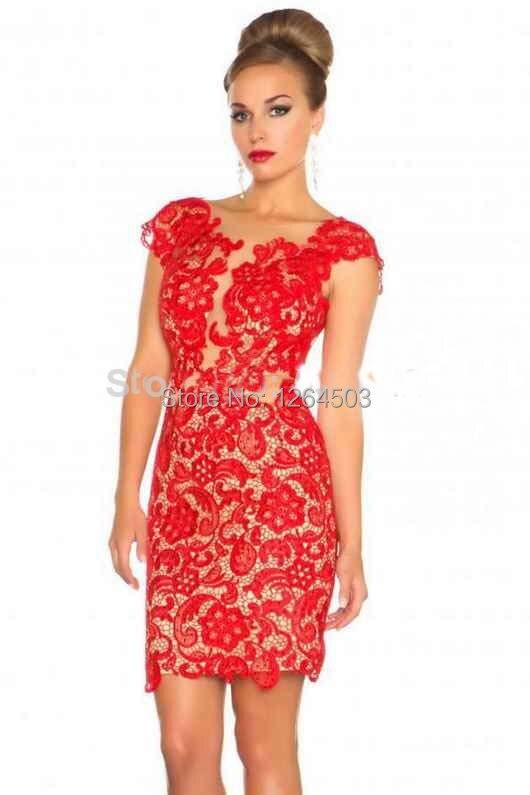 Modas de vestidos de noche cortos