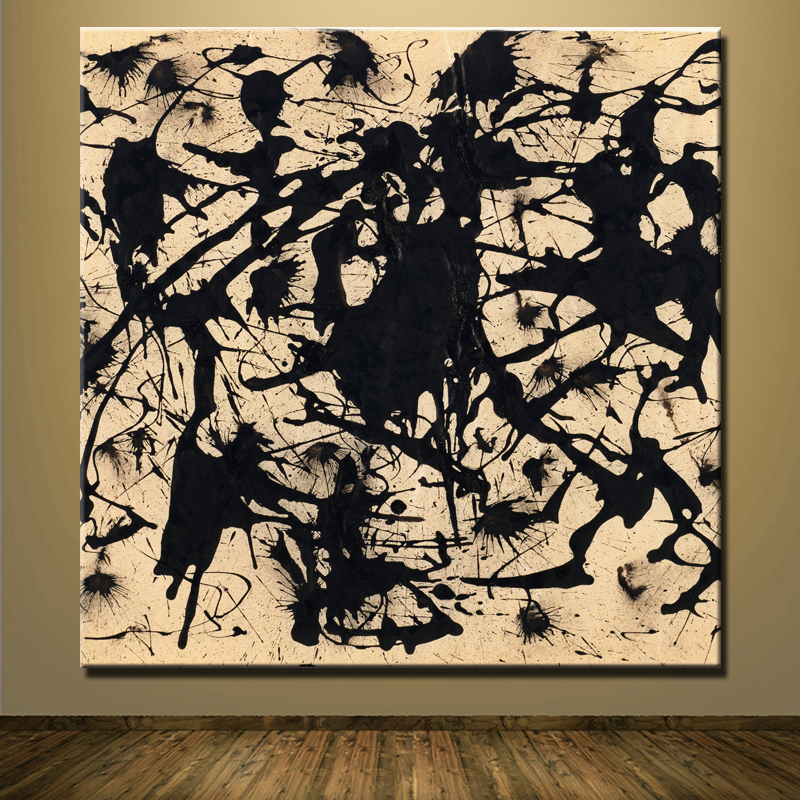 Online buy wholesale jackson pollock paintings from china for Mural jackson pollock