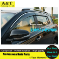 AKD Windows visor car styling Chrome Wind Deflector Viso Rain / Sun Guard Vent FITS For 2013 2014 RAV 4 Rain shield