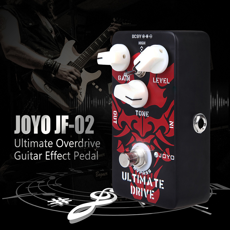 JOYO JF 02 Ultimate Drive Overdrive Guitar Effect Pedal in Promotion