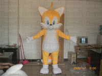 cute baby cat mascot costumes cartoon yellow cat costumes