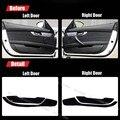 2pcs Fabric Door Protection Mats Anti-kick Decorative Pads For BMW Z4 2009-2013