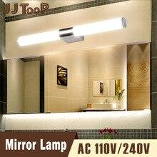 Lámpara de espejo de Baño Luz impermeable montado en la pared ajustable 8 W  iluminación interior moderna 220 V 110 V baño tocado. 5dff3903c709
