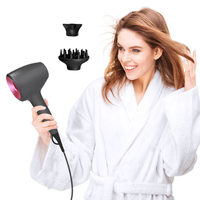 Portable Hair Dryer Large Power Anion Constant Temperature Air Blower Not Hair Injury Blow Dryer Hair Blower Styling Tools