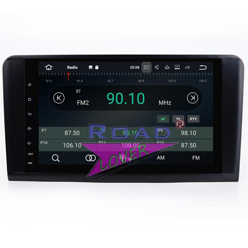 Lecteur de Navigation GPS de voiture TOPNAVI Android 7.1 pour Mercedes Benz ML classe W164 ML350 ML430 ML450 ML500 GL320/r-class W219 stéréo - 6