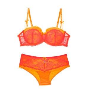 08a921468270d Varsbaby Plus size Sexy Underwear Set Cotton Push-up Bra and Panty Sets 3 4  Cup Brand Lace Lingerie Set Women Deep V Brassiere