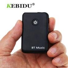 Kebidu 2 in 1 ไร้สายบลูทูธ V4.2 ตัวรับสัญญาณ 3.5 มม.สเตอริโอ Music Audio Adapter สำหรับหูฟังลำโพง