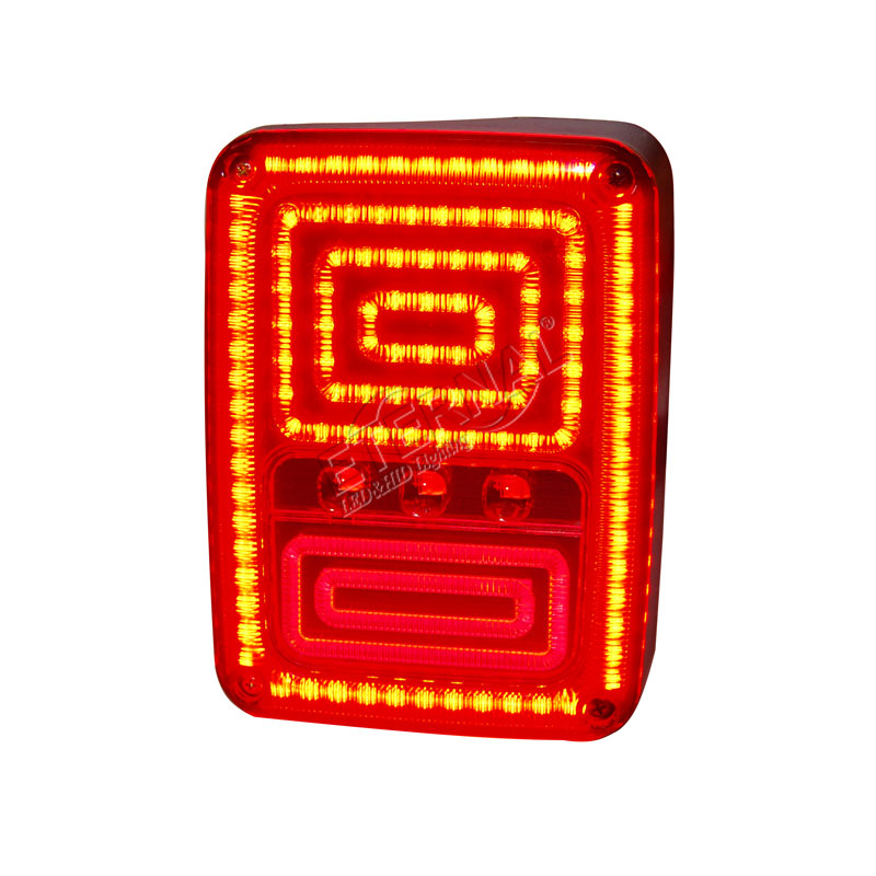 free shipping 2pcs Wrangler JK LED tail light brake turn signal brake reverse DRL lamp for 4x4 off-road Rubicon JK 07-15 Rubicon motorcycle tail tidy fender eliminator registration license plate holder bracket led light for ducati panigale 899 free shipping