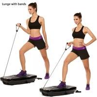 J way Fitness Vibration Platform Workout Machine Exercise Equipment Body Building