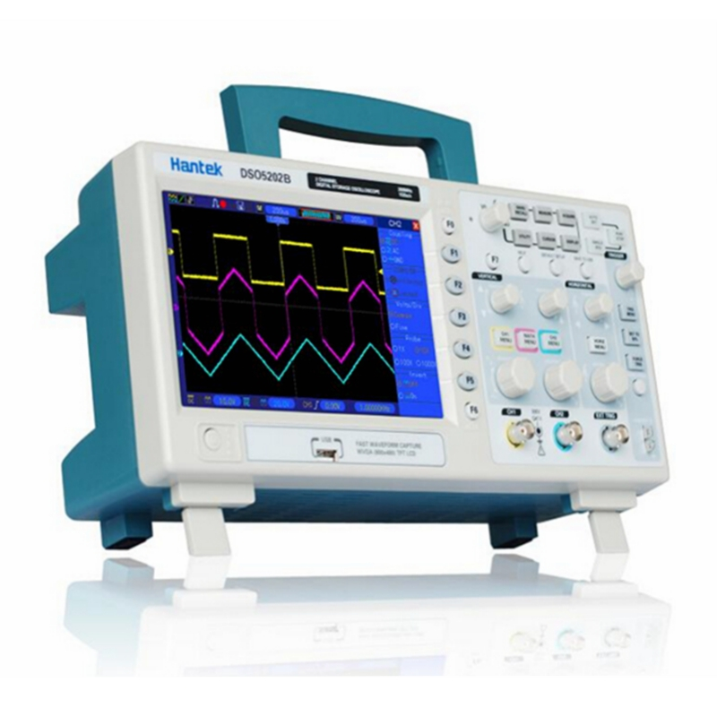 Hantek DSO5202B Digital Storage Oscilloscope 200MHz 1GSa/s 2 CH 7