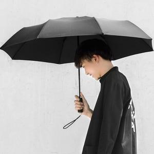 Image 2 - מקורי Xiaomi גשום מטרייה אוטומטית קיפול ופתיחה אלומיניום מטריית Windproof איש אישה עמיד למים עבור חורף קיץ