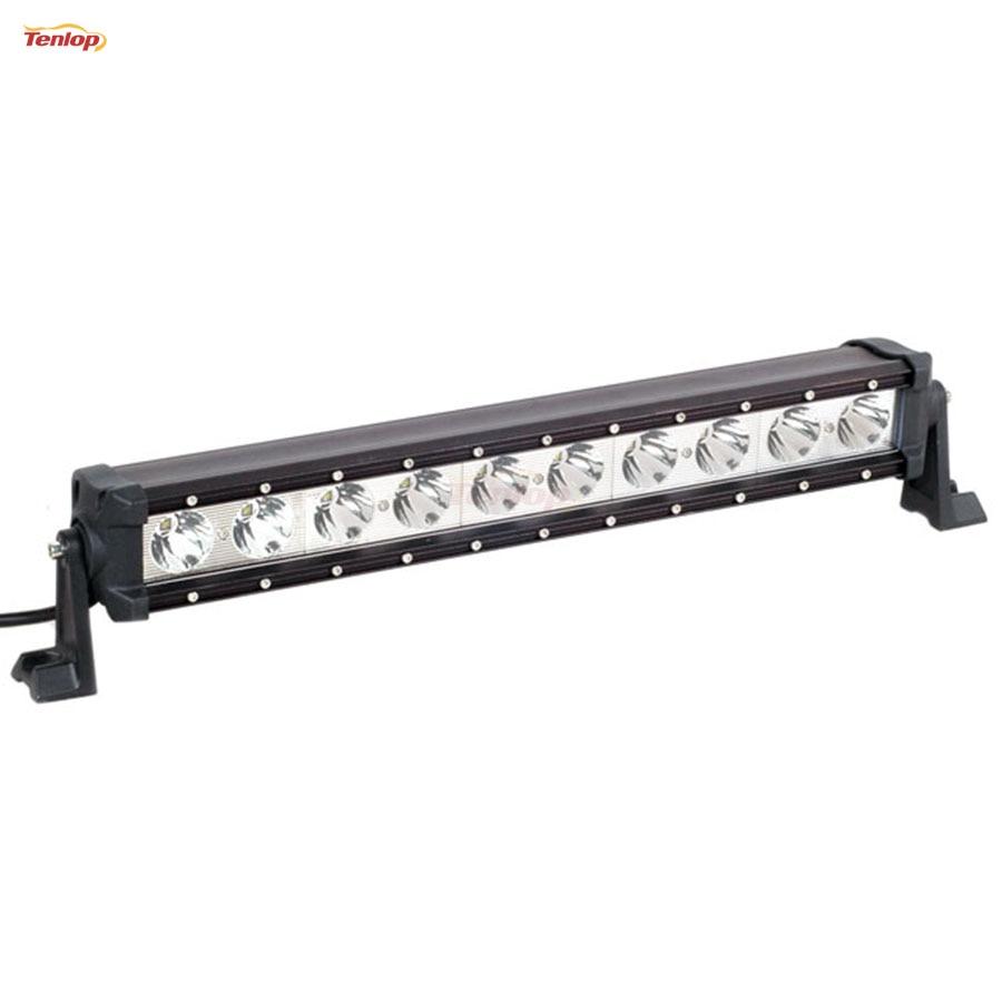 Light Sourcing  22.5 Inch 100W Single Row  LED Tuning Light Bar For Offroad Wrangler 4*4 SUV ATV 12V 24V light sourcing the newest type 6 3 inch 60w cree tuning light black red for offroad atv suv wrangler truck 12v 24v
