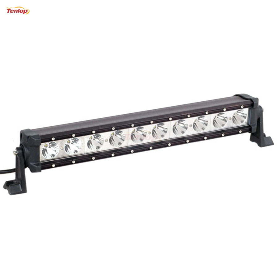 Light Sourcing  22.5 Inch 100W Single Row  LED Tuning Light Bar For Offroad Wrangler 4*4 SUV ATV 12V 24V hot sale 9 inch 40w single row led light bar for offroad wrangler 4 4 suv atv 12v 24v