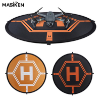 MASiKEN Double Side Foldable Apron Landing Pad for DJI Spark/DJI Mavic Air/ Phantom 4 3 Mavic Pro Inspire 1 Drone RC Quadcopter