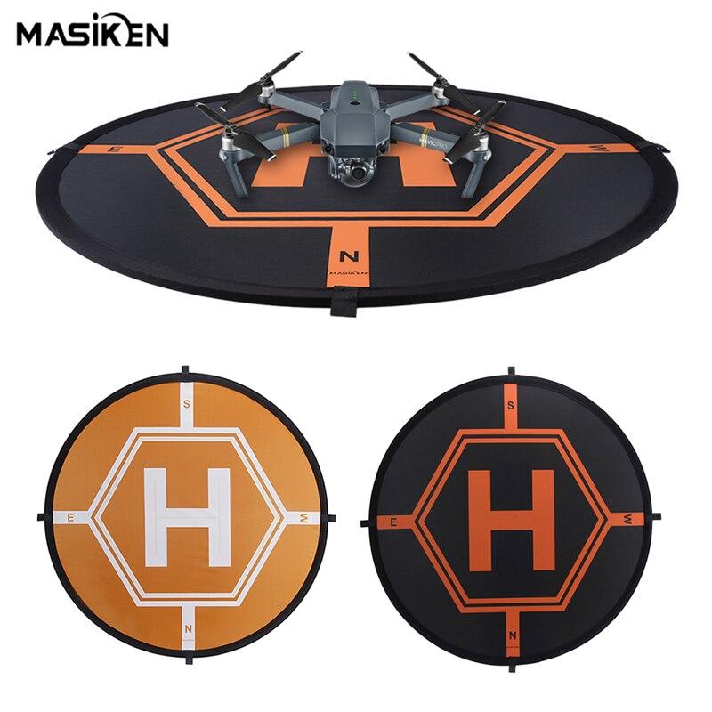 MASiKEN Double Side Foldable Apron Landing Pad for DJI Spark/DJI Mavic Air/ Phantom 4 3 Mavic Pro Inspire 1 Drone RC Quadcopter