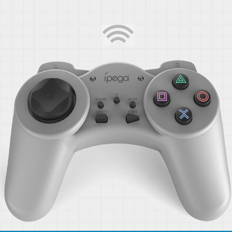 Wireless Game Controller Joystick Dual Vibration Auto and Turbo Gamepad For  PS Mini PS Classic PC Phone Tablet android device