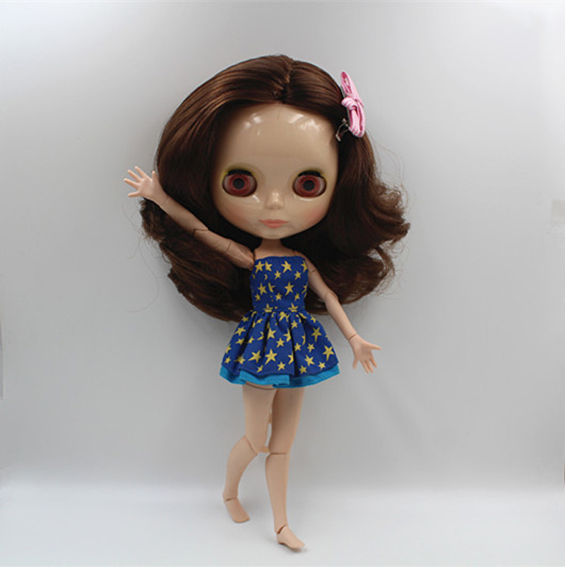 Useful Free Shipping Top Discount 4 Colors Big Eyes Diy Nude Blyth Doll Item No 358j Doll Limited Gift Special Price Cheap Offer Toy We Take Customers As Our Gods Toys & Hobbies