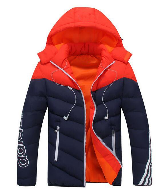 HOT SALE 2016 autumn and winter warm thick cotton jacket fashion trend Male Down jacket men