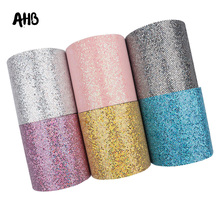 AHB 75mm Mesh Glitter Ribbon Shiny Sequin Colorful Snake Pattern DIY Girls Gift Accessories Party Handmade Decor Material