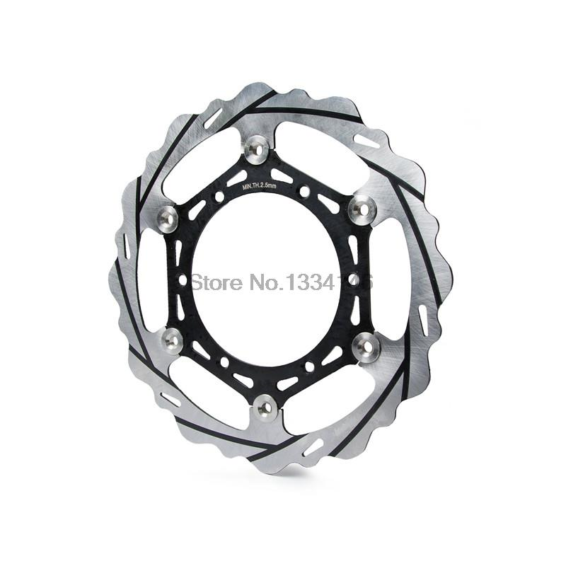 Motorcycle 270mm Oversize Front MX Brake Disc Rotor For Yamaha WR125 250 WR250F/400/426F WR450F Motorbike Front MX Brake Disc mfs motor motorcycle part front rear brake discs rotor for yamaha yzf r6 2003 2004 2005 yzfr6 03 04 05 gold