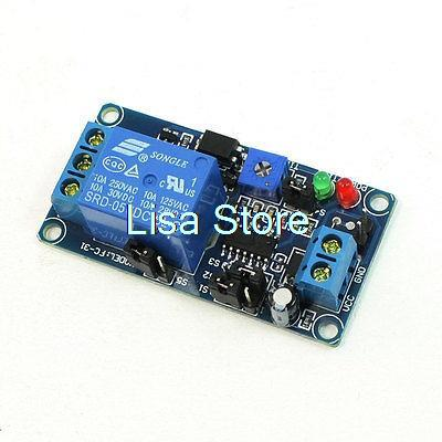 DC 5V 0.1S-1H Delaying Time Range NO Trigger Delay Relay Module Timer