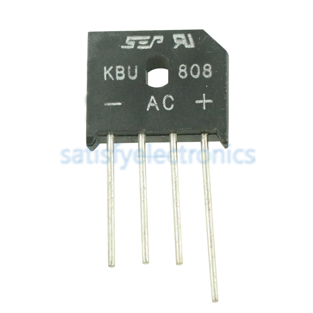 10pcs/lot KBU808 KBU 808 KBU-808 800V 8A Bridge Rectifier