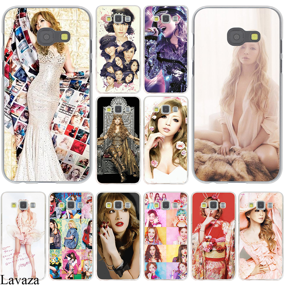 Ayumi Hamasaki mobile phone bag Hard Case Cover for Galaxy A3 A5 J5 (2015/2016/2017) & J3 J5 Prime A7 J7