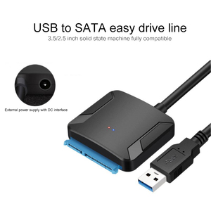 USB3.0 Hard Drive Converter Cable USB 3.0 To Sata Adapter Converter Cable For Samsung Seagate WD 2.5 3.5 HDD SSD Adapter(China)