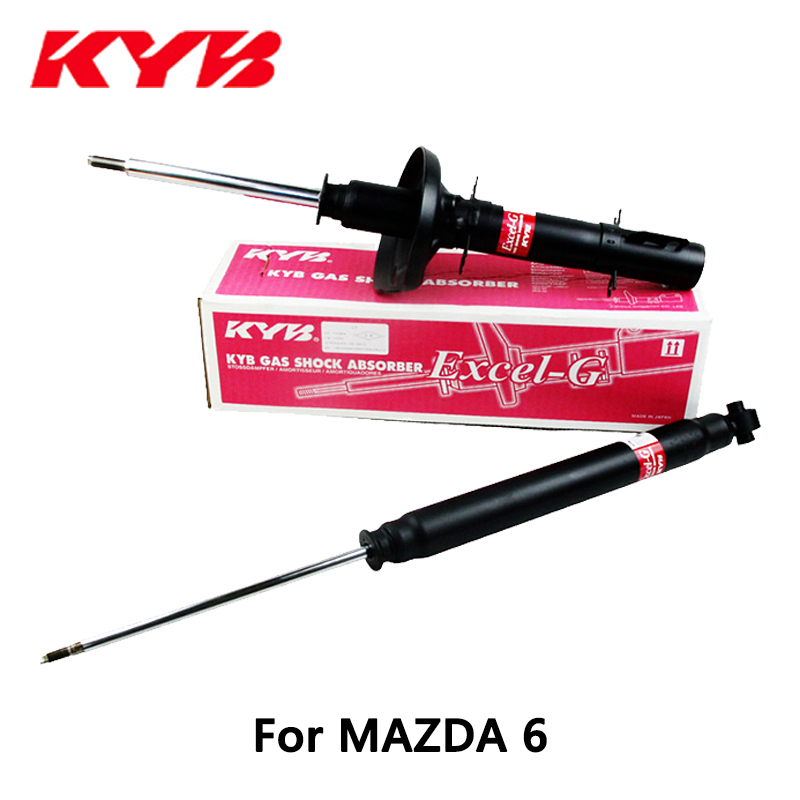 KYB car Left shock absorber 341333 for MAZDA 6 auto parts kyb car left rear shock absorber 339217 for toyota highlander auto parts